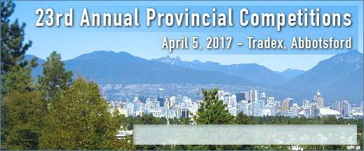 2016 Skills BC Competition @ Abbotsford Tradex | Abbotsford | British Columbia | Canada